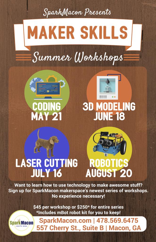 Maker Skills - Poster