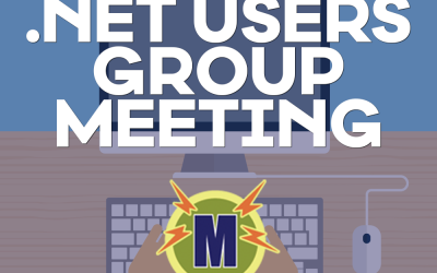 .NET Users Group Meeting – October 20