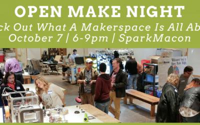 Open Make Night – November 4