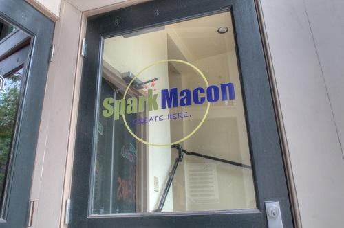 SparkMacon Front Door