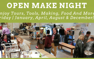 Open Make Night – December 1